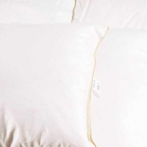 Poduszka Puchowa Jasiek (40x40) Ecru